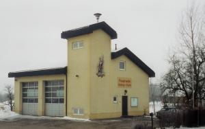 Feuerwehrhaus 1992