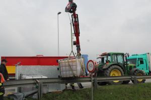 27.03.2019 Aufräumen nach Verkehrsunfall